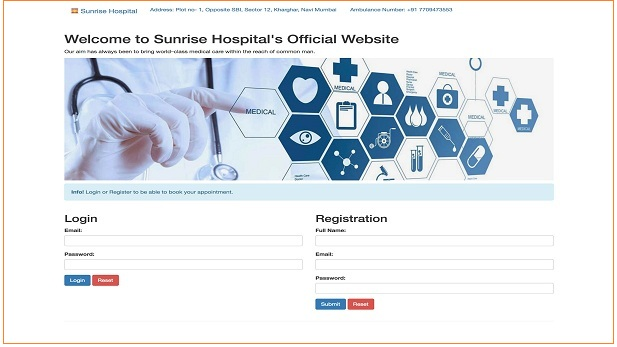 Hospital Management System Mini Project MySQL
