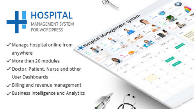 WordPress Hospital Management System Project Free Download